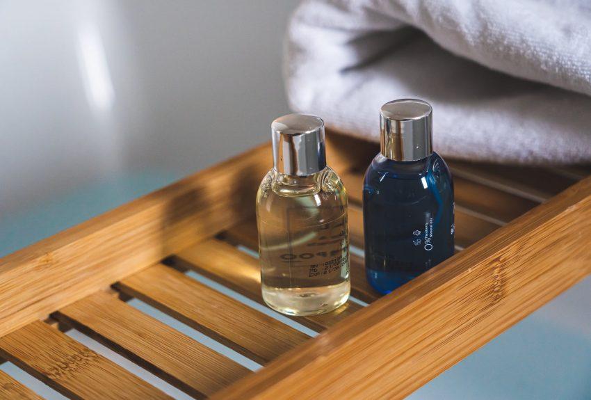 wood relaxation water blue